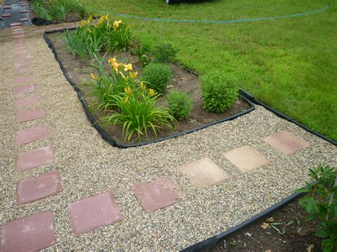 how to gravel a garden adding magic to flower gardens with pathways how to lay a path