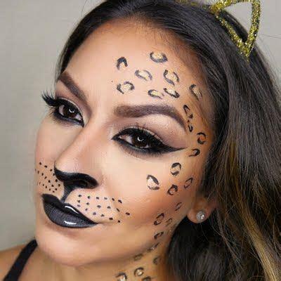 leopard make up leopard makeup style in 2019 makeup leopard kost 252 m leoparden make up