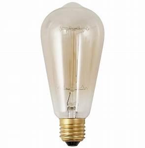 Ampoule Filament Vintage : ampoule vintage bubul long filament pour un clairage ~ Edinachiropracticcenter.com Idées de Décoration