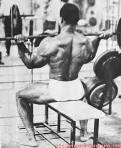 Sergio Oliva Training