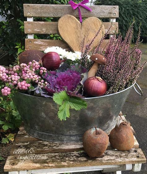 Herbst Garten Dekoration by Inneneinrichtung Ideen Fotos Malen Rezepte Diy