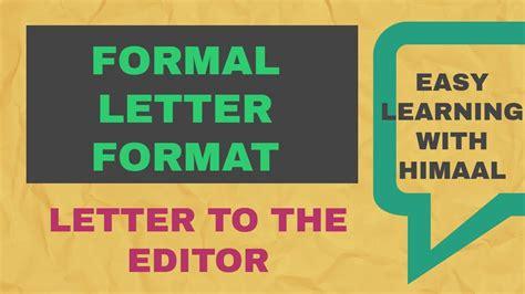 formal letter format maharashtra board