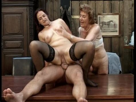 Two Grannies Bang Hung Stud Free Porn Videos Youporn