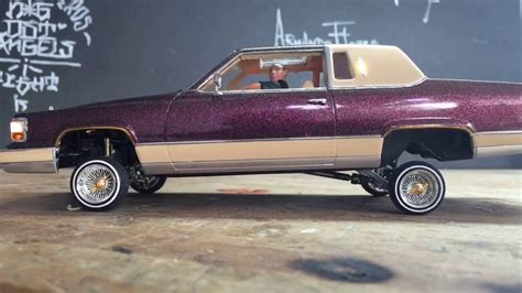 rc lowrider cadillac fleetwood brougham  jevries youtube