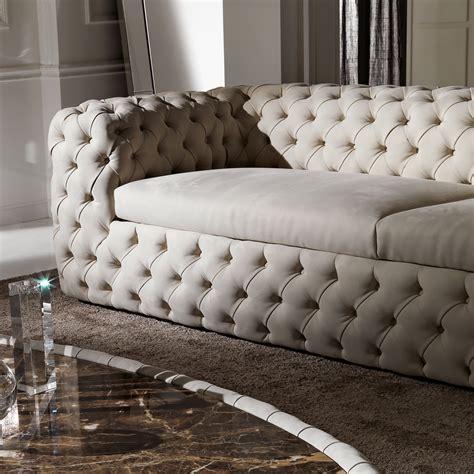 spagnesi italian leather sofa high end modern nubuck leather upholstered sofa