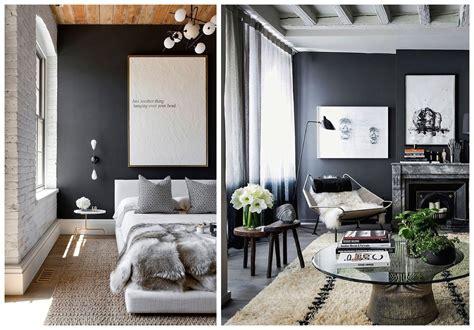 How To Rock Dark Grey Walls