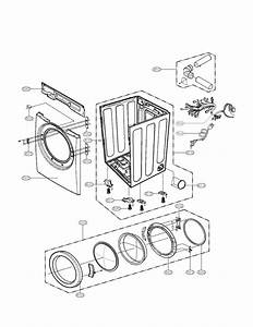 Lg Model Dlg2102w Residential Dryer Genuine Parts