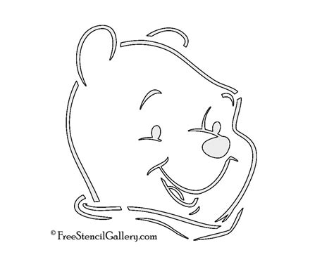 Winnie The Pooh Pumpkin Carving Templates by Winnie The Pooh Stencil Free Stencil Gallery