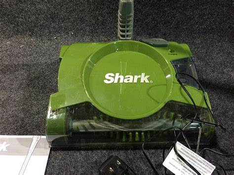 shark 10 quot rechargeable floor and carpet sweeper ebay
