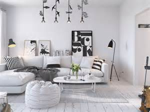 Style Home Interior Design Bright Scandinavian Decor In 3 Small One Bedroom Apartments