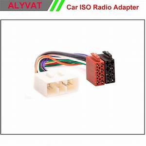 Car Iso Wiring Harness Auto Radio Adaptor Cable Plug