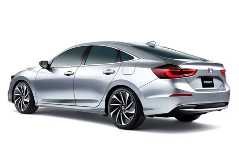 New Hybrid Cars by New Honda Insight Sleek Hybrid Prototype S Specs Detailed