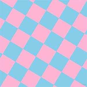 Cotton Candy and Sky Blue checkers chequered checkered ...