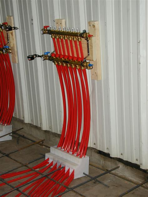 pex radiant floor heating design pex pal installations axiom industries