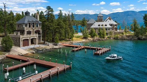 Shelter Island House - shelter island estate on montana s flathead lake robb report
