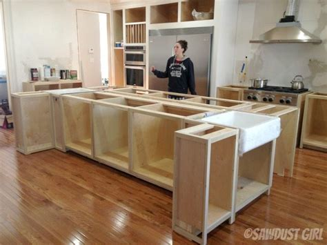 how to build a kitchen island with seating kitchen island sawdust
