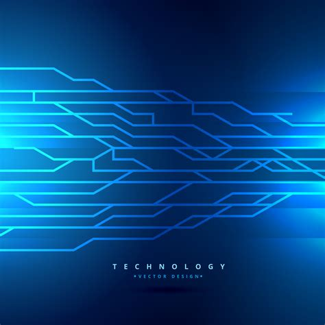 Digital Wallpaper Design by Digital Technology Style Background Vector Design
