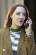 Saoirse Ronan  Filming...