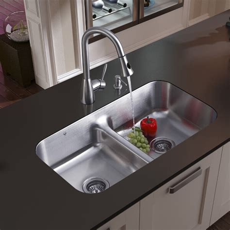 stainless undermount kitchen sink awesome undermount stainless steel kitchen sink kitchentoday 5738