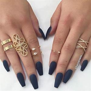 Matte Navy Blue | Nails | Pinterest | Navy blue, Navy and Prom