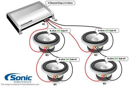 Subwoofer Series Parallel Wiring Diagram by Coaxial 2 Way Speaker Wiring Diagram Wiring Diagram