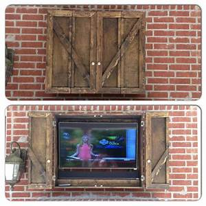 Our, New, Custom, Outdoor, Tv, Cabinet