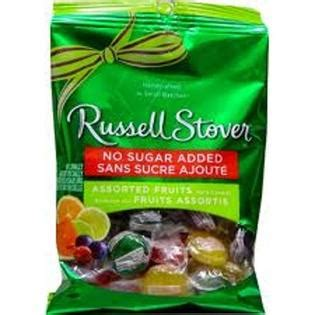 Russell Stover Sugar Free Hard Candies Fruit Assorted 3.4 oz