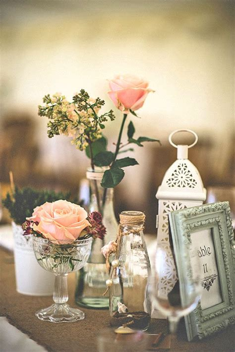 shabby chic vintage wedding decor ideas wedding