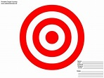 8X11 Printable Targets | Powerpoint Animation Clip Art ...