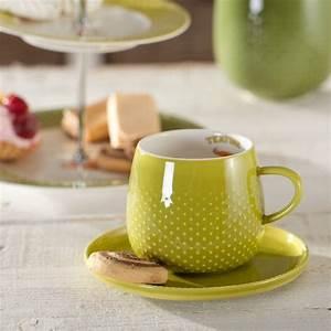 Tasse Mit Untertasse : tasse mit untertasse raindrop tea gr n 270ml 270ml dekoria ~ Sanjose-hotels-ca.com Haus und Dekorationen