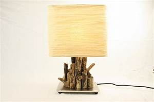 Lampe Mit Glasfuß : einmalige treibholz lampen schwemmholz lampen ~ Indierocktalk.com Haus und Dekorationen