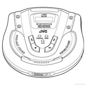 Jvc Xl-pg51 - Manual - Portable Cd Player