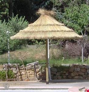 Parasol En Paille : parasol paillote d coration var parasol paille pinterest parasol d corations et cuisine ~ Teatrodelosmanantiales.com Idées de Décoration