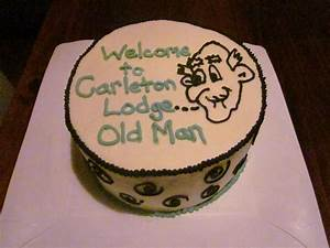 Second Generation Cake Design: Old Man Birthday Cake