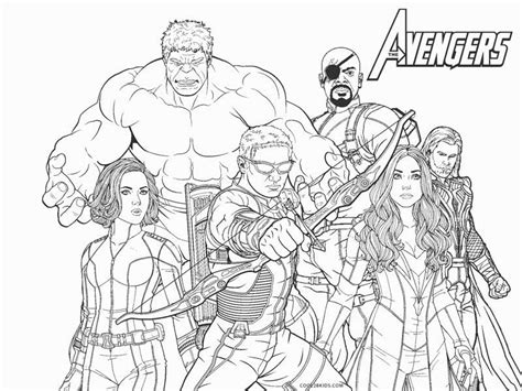 avengers coloring pages coolbkids