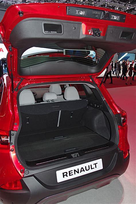 renault kadjar trunk 2015 gen 232 ve motor show renault kadjar world premiere
