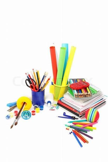 Office Supplies Clipart Supply Background Websites Supplier