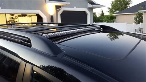 discreet 40 quot led lightbar on factory roof rack ih8mud forum