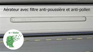 Aerateur De Fenetre : installer un filtre anti pollen et anti courant d air sur ~ Premium-room.com Idées de Décoration