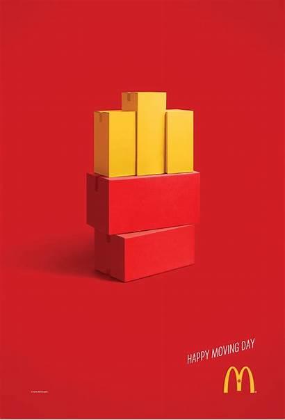 Ads Mcdonalds Advertising Mcdonald Cossette Happy Moving
