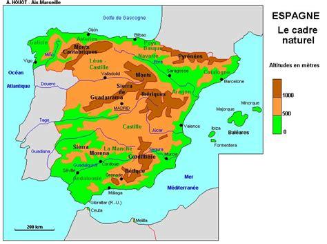 Acheter Carte Du Monde En Relief by Info Relief Espagne
