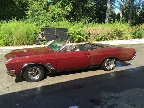 1967 Buick Skylark Convertible For Sale by 1967 Buick Skylark Gs Convertible Numbers Matching For Sale