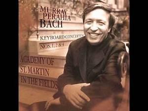 Perahia, Bach Piano Concerto no 1 BWV 1052, 1 mvt - YouTube
