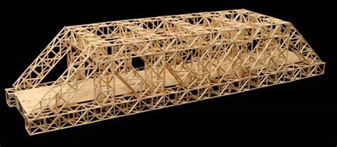 build  toothpick bridge science project ideas