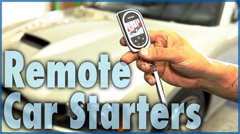 Types Of Remote Car Starters