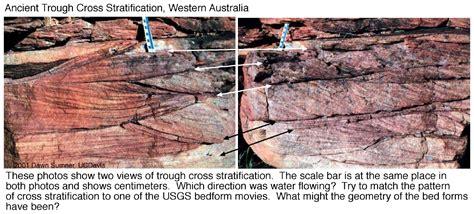 Trough Cross Bedding by Ucdavis Gel 109 Sedimentary Structures