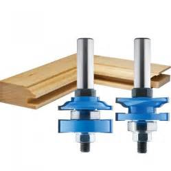 Cabinet Making Router Bit Set by 1 5 8 2 Pc Ogee Stile And Rail Router Bit Set Rockler