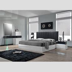Ireland Modern Platform Bed Collection