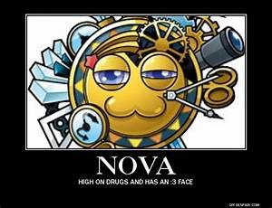 Nova: High on drugs by sneakykid21 on DeviantArt