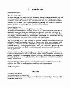 sample personal business plan template 7 free documents With corporate marketing plan template